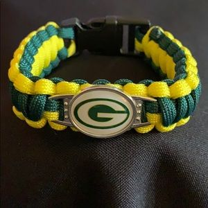 🏈✨GREEN BAY PACKERS NFL BRAIDED PARACORD BRACELET